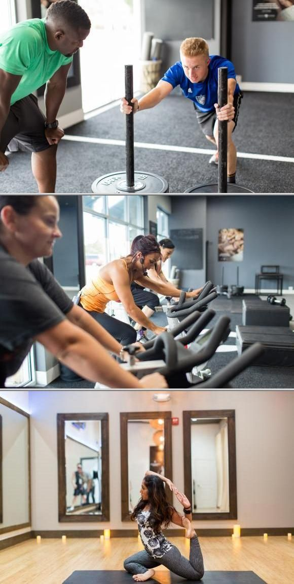 If you need to find a personal trainer for your strength and cardio training, choose Mark Trapp. He offers 1-on-1 and group sessions for spin, Piloxing classes and more.