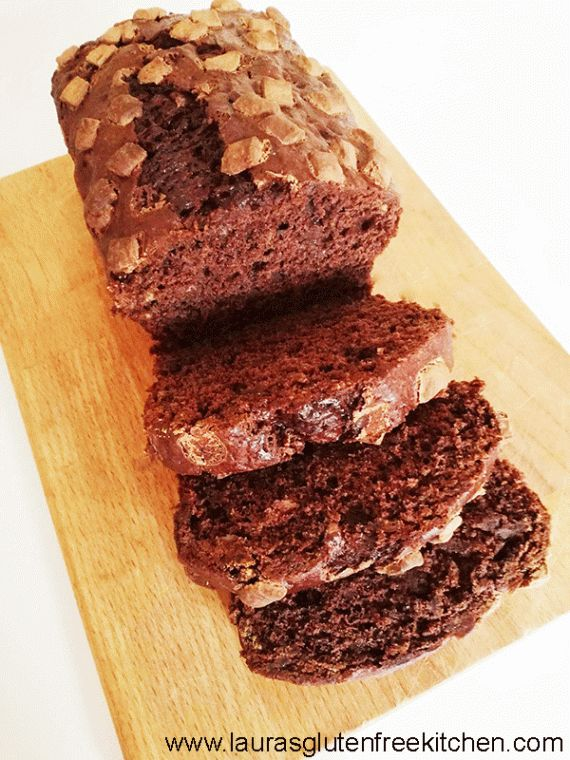 Gluten Free Double Chocolate Banana Bread --- This Gluten Free Double Chocolate Banana Bread is the ultimate banana bread. It is SO rich and divine.
