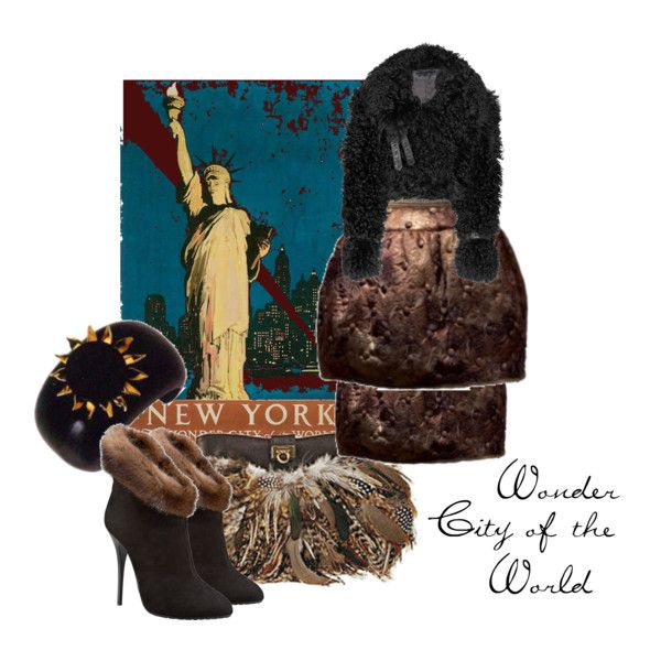 """Wonder City of the World"" by moodycat on Polyvore"
