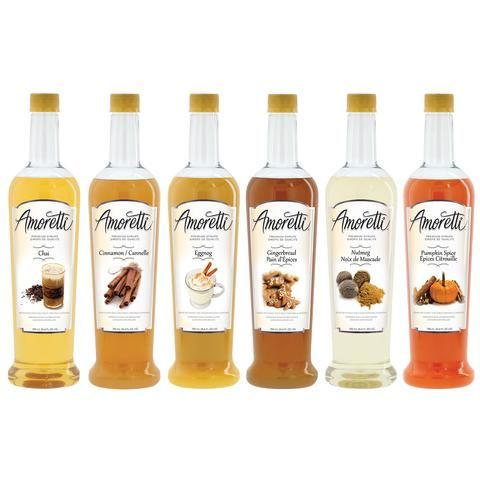 Holiday Syrups 6 Pack (With images)   Pumpkin syrup ...