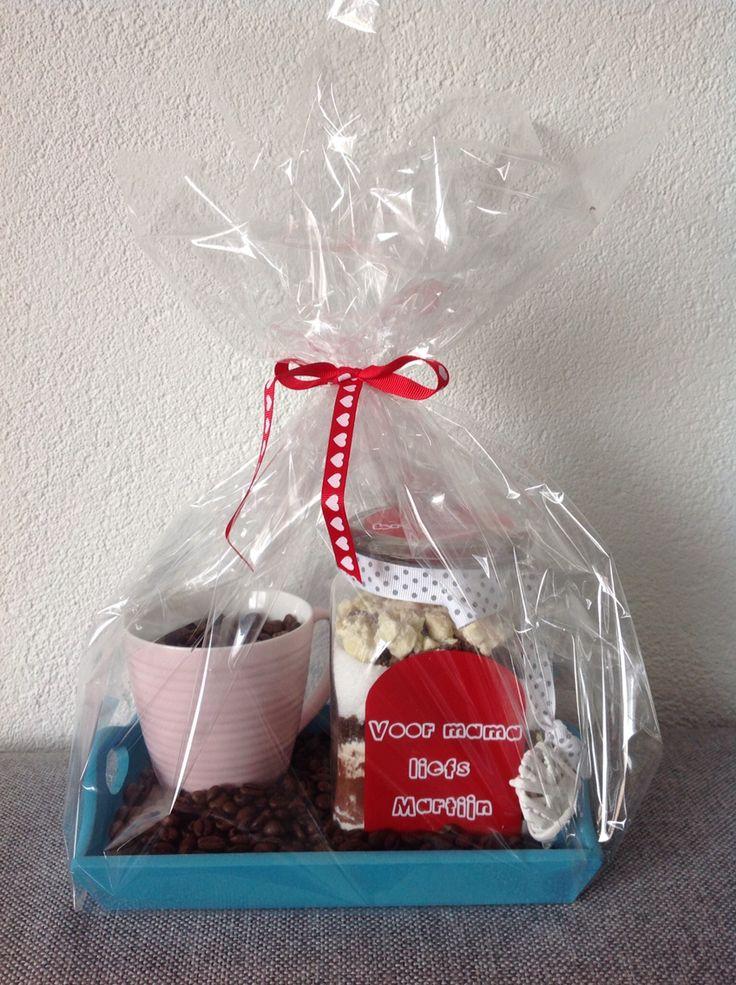 Pot vol koekjes!  #potvol #koekjes #diy #lief #traktatie #moederdag #love