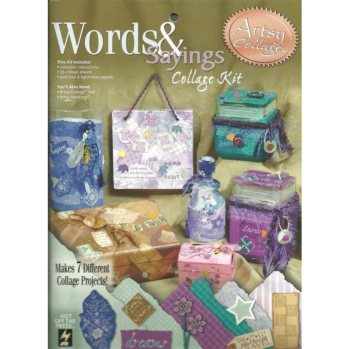 Artsy Collage Words and Sayings Collage 7 projects Set Hot Off The Press Unused Listing in the Other,Paper Crafts,Scrapbooking & Paper Crafts,Crafts, Handmade & Sewing Category on eBid Canada | 156333984 CAN$ 7.00 + Shipping