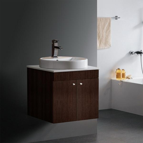 Floating sink · Bathroom Vanity ... - 9 Best 1/2 Bath Ideas Images On Pinterest