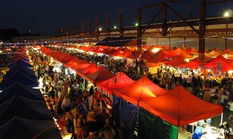 Summer Night Market in Richmond, British Columbia