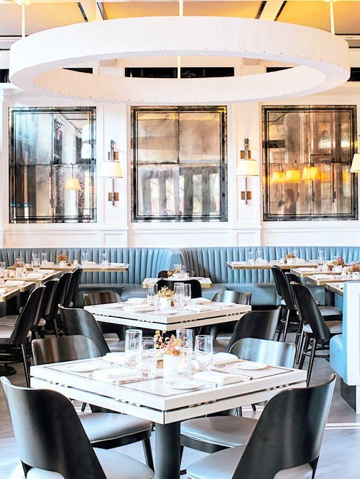 16 breathtaking restaurants to add to your bucket list - Beaded Inset Restaurant Interior