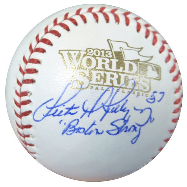 "Victor Rodriguez Autographed Official 2013 World Series Baseball Red Sox """"Boston Strong"""" PSA/DNA #AC23282"