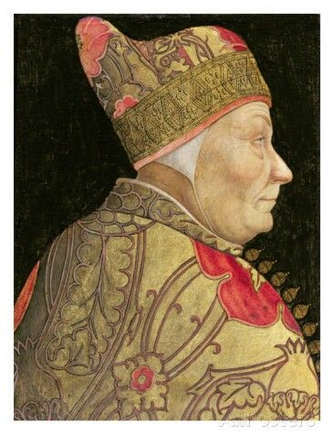 Francesco Fosari 1373-1457 doge of Venice, who led the city into long and reinous wars.