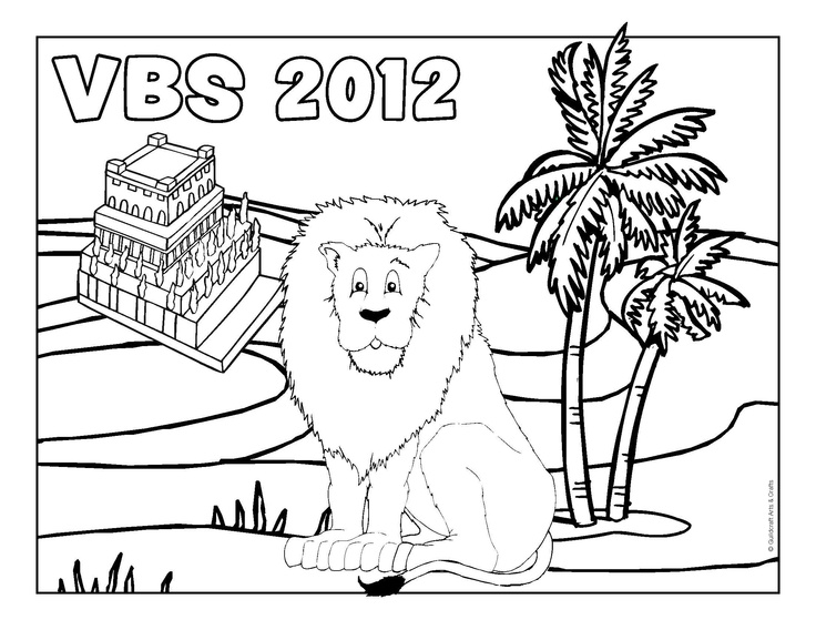 VBS Babylon Coloring Sheets!