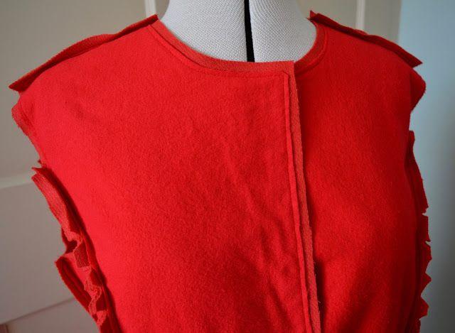 Coat construction - Handmade Jane - McCalls 7058