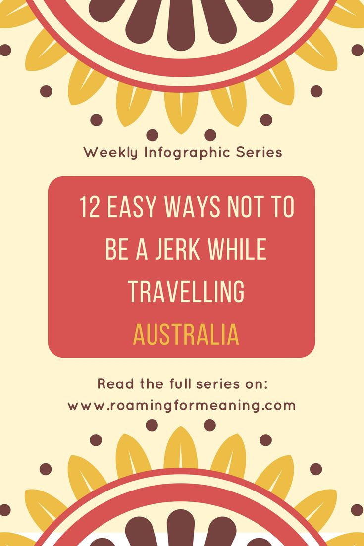 """Learn why you shouldn't say """"I'm stuffed"""" after a meal in Australia - along with 11 other easy tips not to be jerk while traveling in Australia"""
