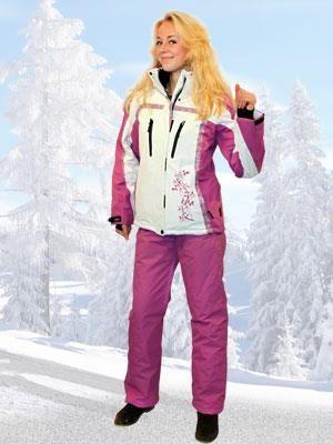 Женские зимние лыжные костюмы спортивные