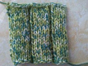 Motif rib stitch knitting 5 x 2 http://www.BelajarCaraMerajut.com