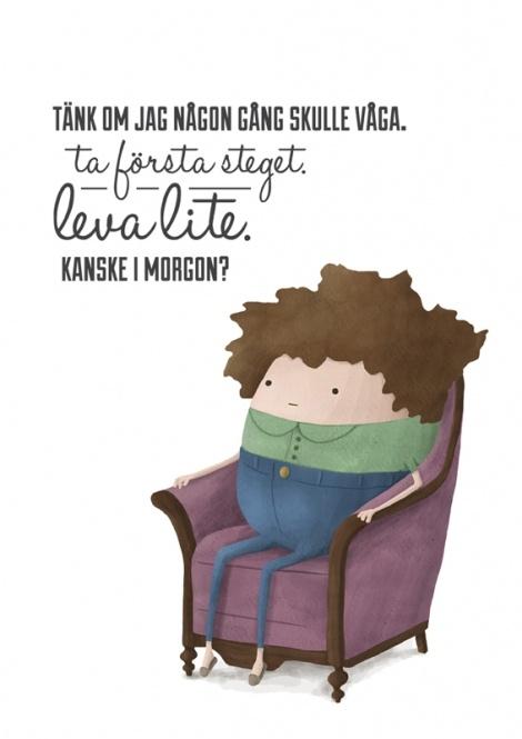 KANSKE IMORGON? av Anna Grape. 220 kr.