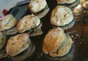 Whole Wheat Soaked Buttermilk Biscuits
