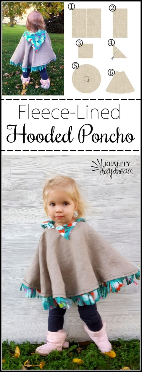 Fleece-Lined Hooded Car Seat Poncho for Toddlers Jalin Bingham