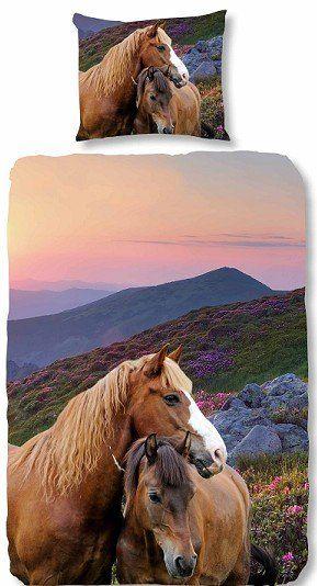 Kids-Style Dekbedovertrek Paarden 3879