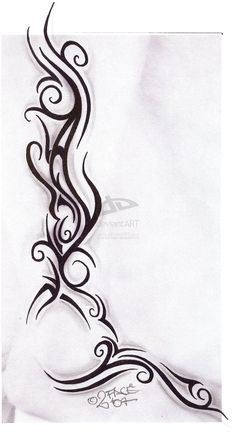 tribal tattoos on girls side | Tattooflash Tribal Design Nice by *2Face-Tattoo on deviantART