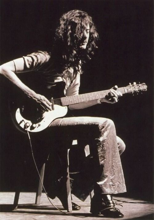 """""""I wanted Zeppelin to be a marriage of blues, hard rock and acoustic music topped with heavy choruses — a combination that had never been done before. Lots of light and shade in the music.""""  —Jimmy Page"""