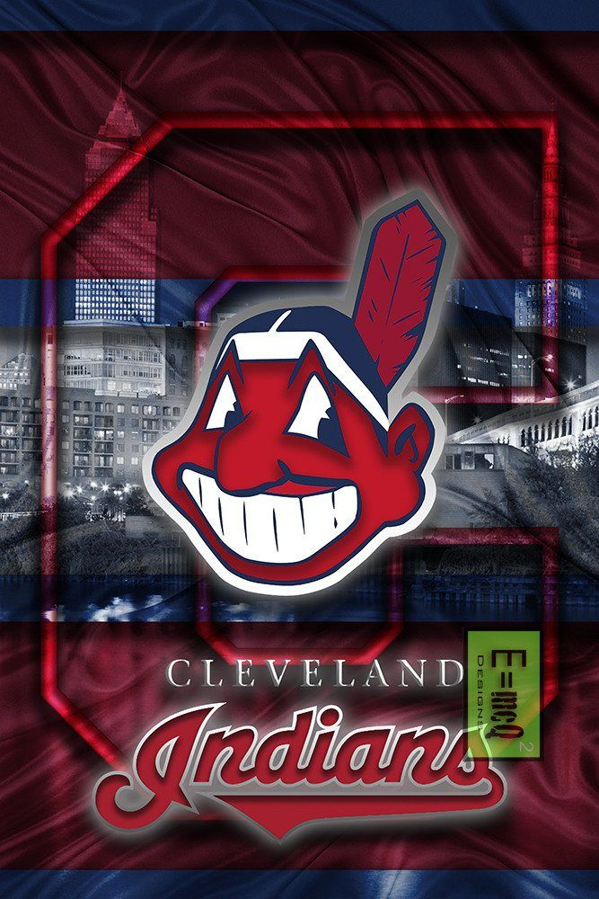 Cleveland Indians Poster, Cleveland Indians Artwork Gift, Indians In F                      – McQDesign