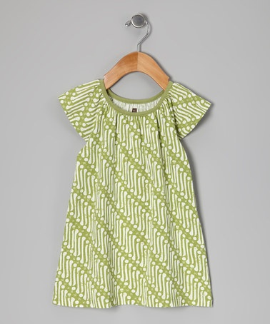 Take a look at this Apple Indonesian Batik Dress - Infant, Toddler & Girls by Tea on #zulily today!