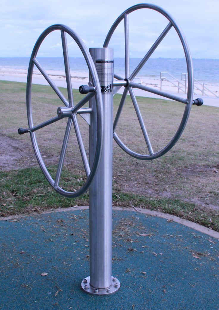 Rotating Wheels by Play Poles