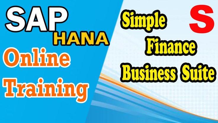 SAP HANA Training Simple Finance   by #SurayHanaAcademy