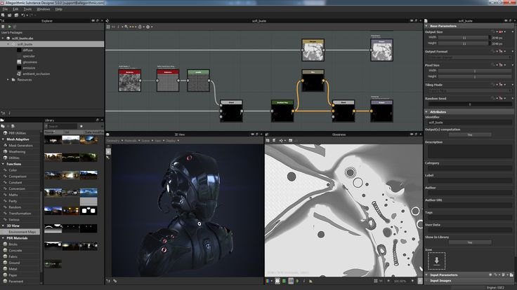 Substance Designer is a texturing hub, tailor-made for Physically Based Rendering.