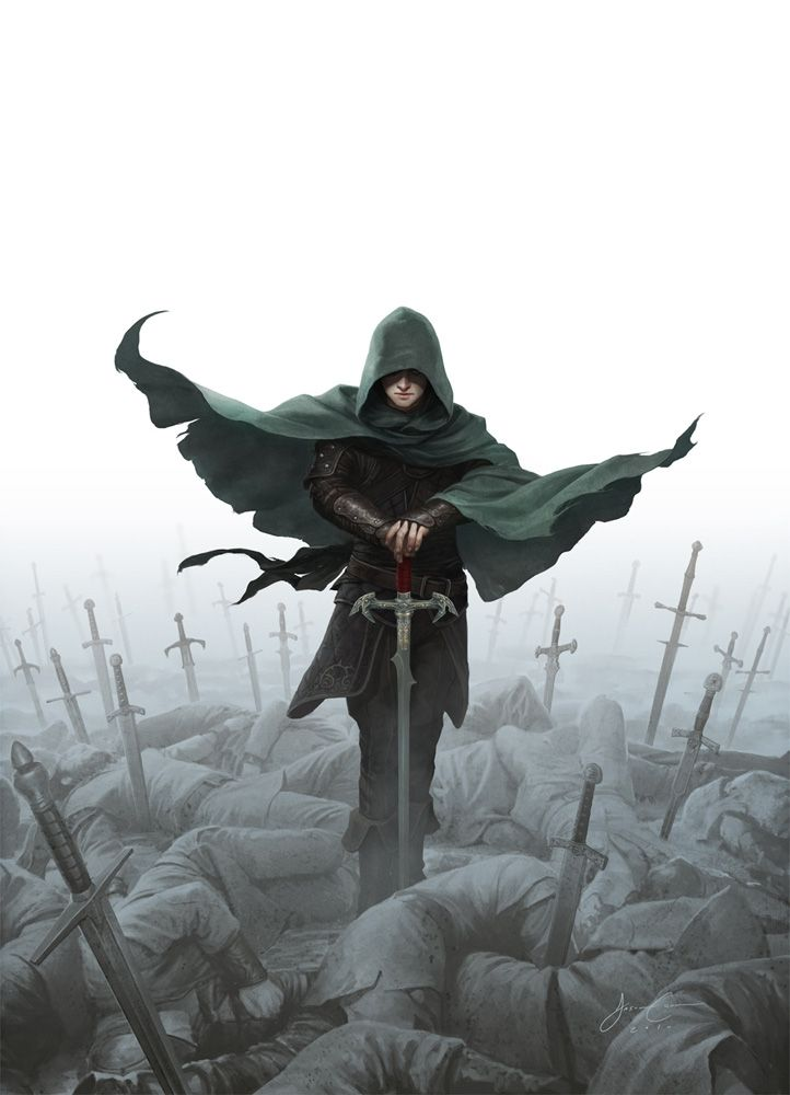 Jason Chan Art - Daily Inspiration. Book cover of Prince of Thorns