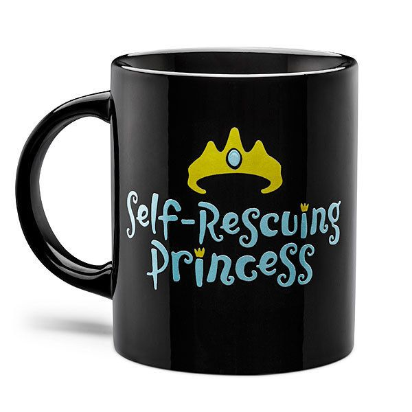 A mug for when you save your own damn self because what is a damsel anyway?