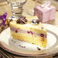 Новогодние десерты. Торт из сливочного сыра