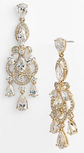 beautiful #gold crystal chandelier earrings http://rstyle.me/n/i9anvr9te