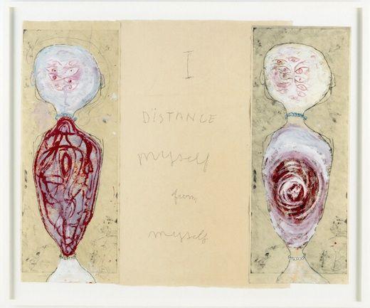 "EDINBURGH: Fruitmarket Gallery. ""I give everything away"" Louise Bourgeois 26 Oct - 23 Feb"