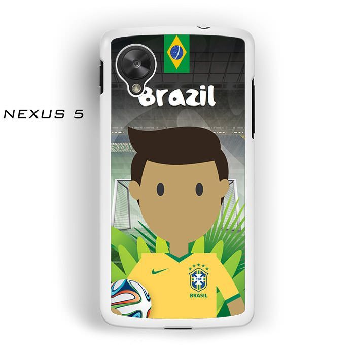 Brazil Player FIFA World Cup 2014 for Nexus 4/Nexus 5 phonecases