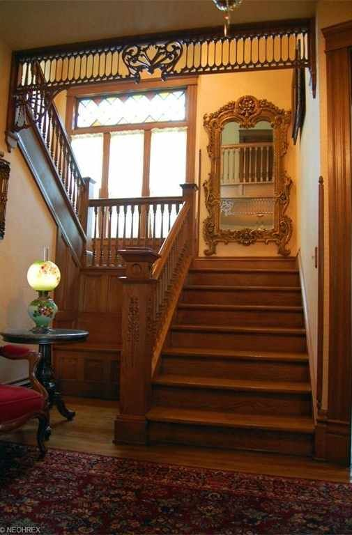 Own a piece of history. This magnificent Queen Anne Victorian home was built in 1901 by Peter Meyer. He and his wife Catherine raised a family of 12 children there. Keeping with the original design and charm of this home, the home has been renovated and updated. The original woodwork, most hardwood floors and Victorian details are still there. Some of the updates include granite counter tops, 6 burner reproduction stove and stainless steel refrigerator. There is a butler's pantry for extra…