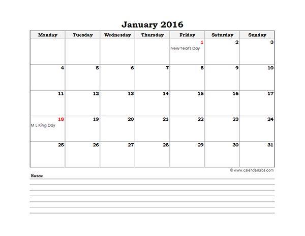 calendario mensual 2015 excel