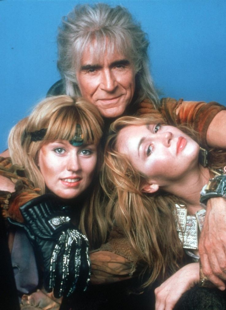 Ricardo Montalban as Khan Noonien Singh - Star Trek II: The Wrath of Khan, 1982…