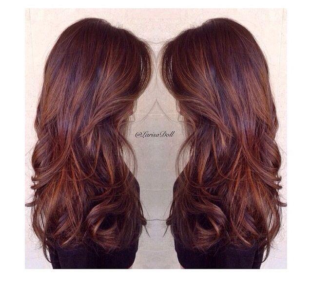 Dimensional violet brown