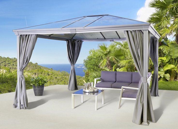 carrefour tonnelle aledo gris pas cher tonnelle rue du. Black Bedroom Furniture Sets. Home Design Ideas