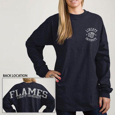 9accae75 Liberty University Flames Spirit Jersey   My Style   Football ...