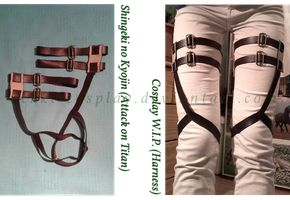 Attack on Titan - Cosplay W.I.P. by Rekki-Cosplay