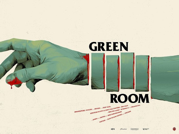 Tomorrow we will have new posters for Green Room by Oliver Barrett and Big Trouble in Little China by Sam Bosma!Green Room was, without a doubt, one of our coll