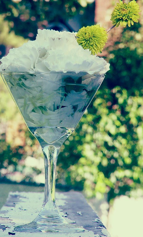 Best martini centerpiece images on pinterest table