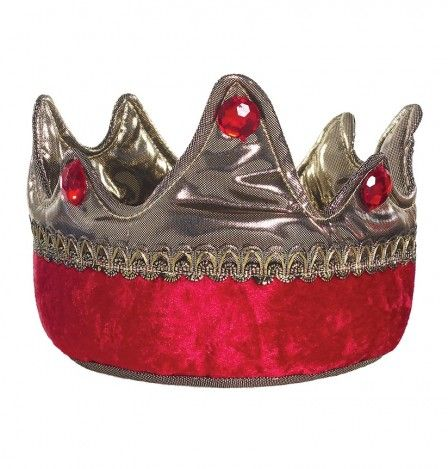 King Crown, Gold/Red