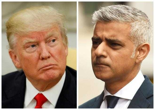 Trump renews criticism of London Mayor Khan over attack