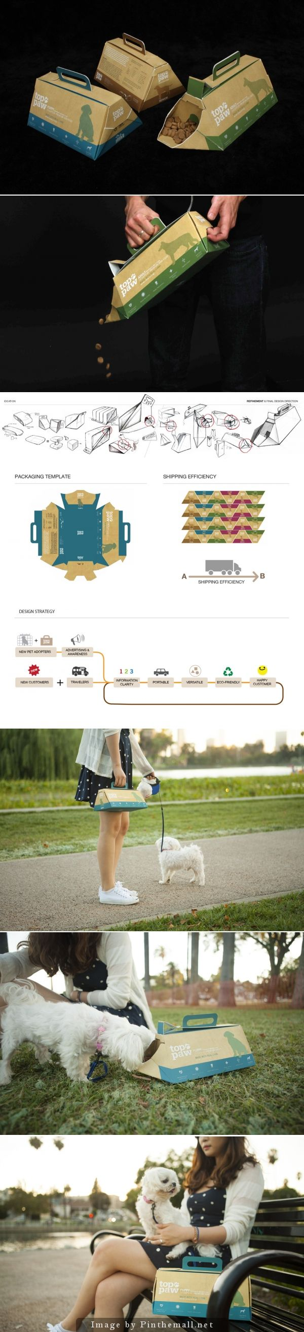 more on a team fav Top Paw Portable dog food #packaging by Benjamin Yi PD