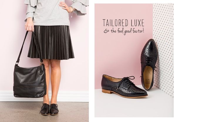 Tailored Luxe & the feel good factor! www.zierashoes.com