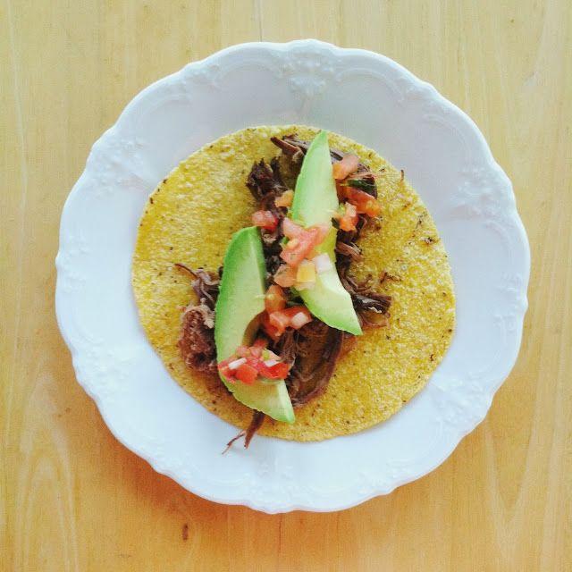 Crockpot Dr. Pepper Brisket Tacos