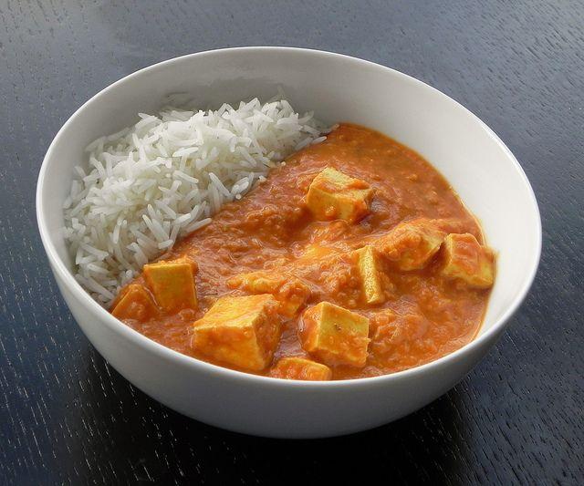 Tofu paneer tikka masala sounds AMAZING for a nice savory meal tonight. Thanks @Amber Shea Crawley . #vegetarian