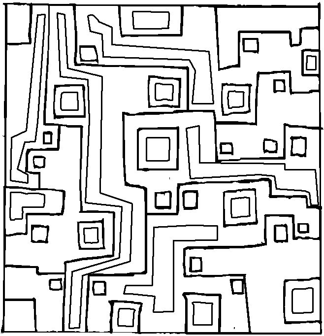 Free Geometric Design Coloring Pages