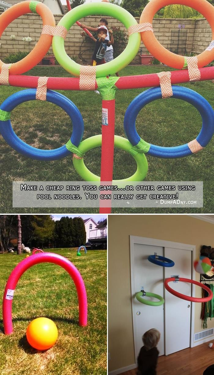 15 Fun Things You Can Do With Your Old Pool Noodles!